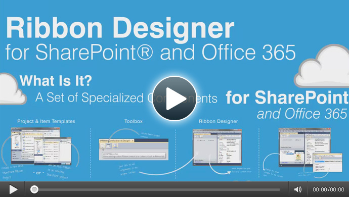 Video: Ribbon Designer for SharePoint and Office 365