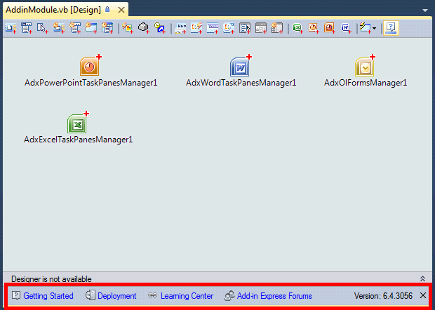 Help Panel in AddinModule Designer