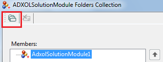 Solution Module folders collection