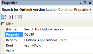 Getting the Outlook version (OLVER):