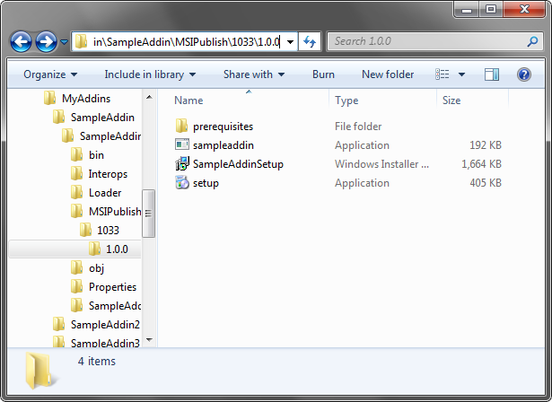 MSIPublish folder
