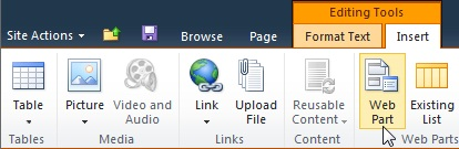 SharePoint Online Server Ribbon
