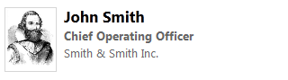 John Smith's Job Title has changed