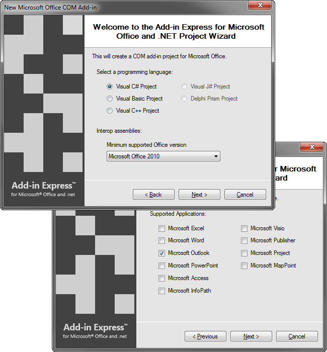 how to create my own vcard in outlook 2013