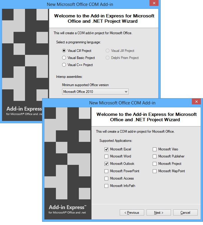 Import contacts & appointments from Excel into Outlook and vice