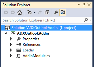 Add-in Express project architecture