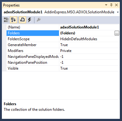 Configuring the Solution Module component