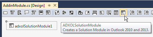 Adding a solution module