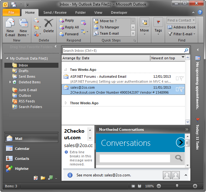 how to create a custom email group in outlook 2010