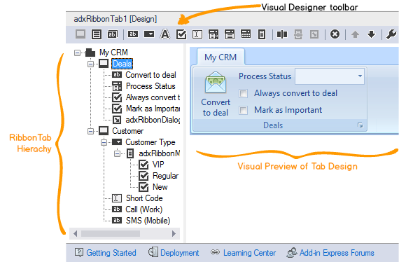 C# - Create a custom ribbon for Outlook 2013, 2010, 2007