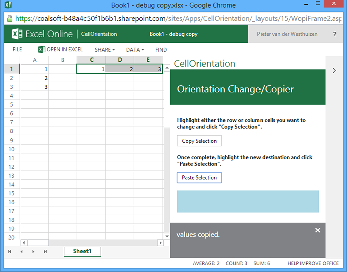 How to create Excel Apps for Office 365