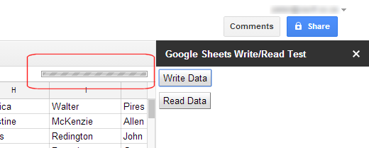 Google Sheets handling large amounts of data