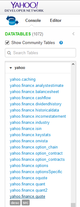 How to integrate an Excel RTD with Yahoo Finance web-service