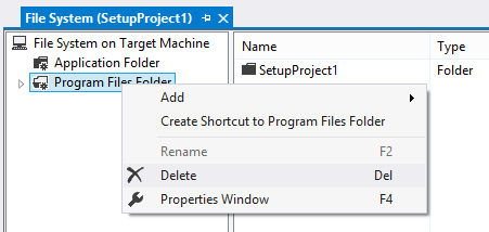 Clean the file system by deleting everything but the Application Folder.
