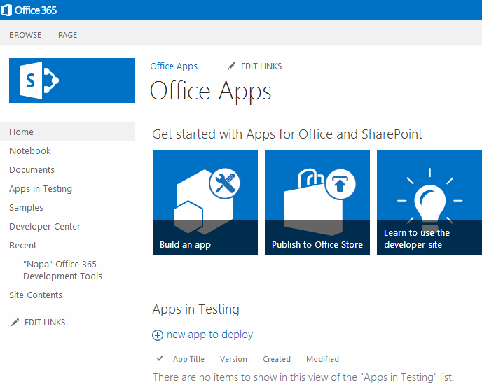 How to create Word Apps for Office 365