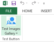 An example of a Ribbon Gallery button with the icon in JPG format