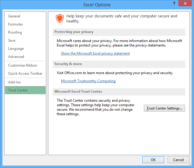 Windows and Office security guide for Office developers