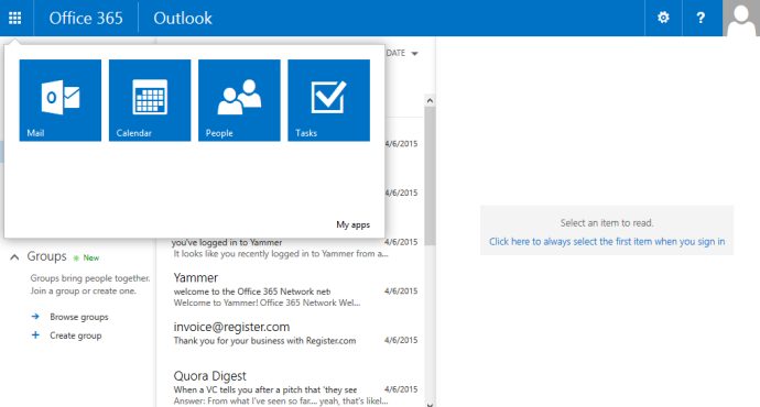 Microsoft Exchange in Office 365