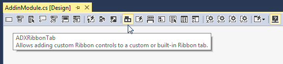 Creating a custom ribbon tab for Excel