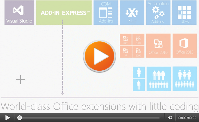 Develop powerful extensions for Office 2013-2003 in Visual Studio
