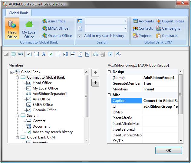 Adding Missing Ribbon S Controls Vsto Amp Net Amp Excel