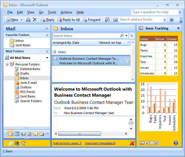 Advanced Regions work for all Outlook versions, from 2000 to 2013