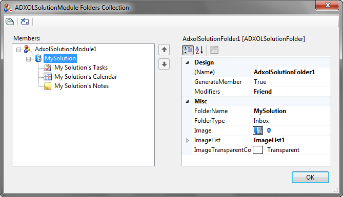 Outlook Solution Module