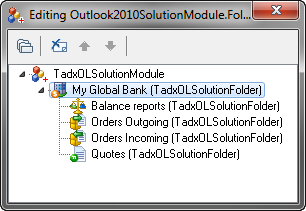 Outlook 2010 Solution Module editor