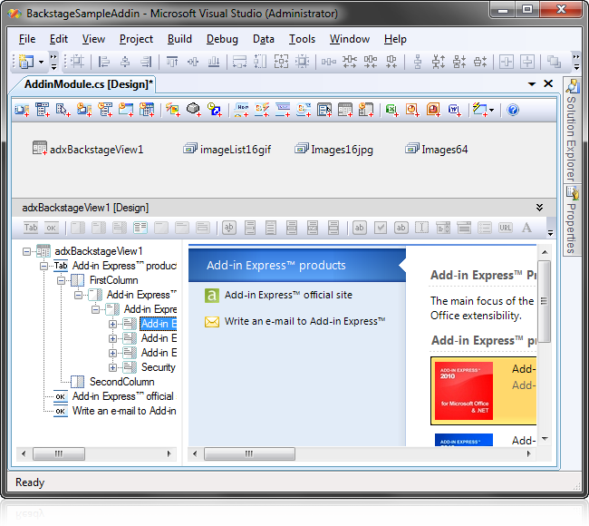 how to create master page in visual studio express 2015