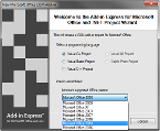 You can select the minimum supported Office version - the corresponding interop assemblies will be used for your project