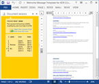 A sample task pane in Word 2013