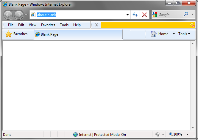 Custom IE toolbar