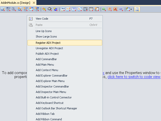 Debugging and deploying Office add-in in Visual Studio (C#