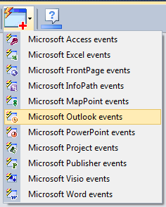 Outlook Events component