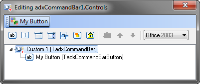 Adding a new button to the Office command bar