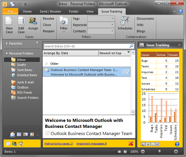 Windows 7 Addin Express Regions for Outlook 1.0 full